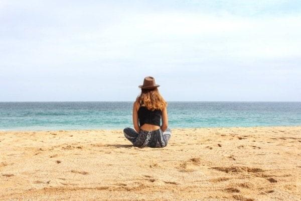 Ideal lifestyle on a beach