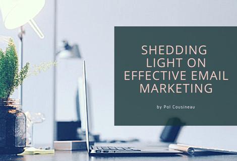 Shedding Light on Effective Email Marketing